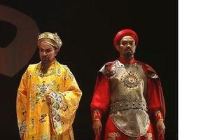 Diễn trích đoạn Vua Phật trong chương trình mừng lễ vu lan