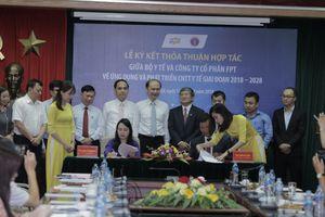 Chủ tịch FPT cam kết cùng Bộ Y tế xây dựng nền y tế 4.0 tiên tiến trên thế giới