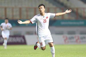Đánh bại Nepal, Olympic Việt Nam cùng Nhật Bản vào vòng 1/8 ASIAD 2018