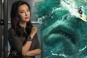 Hoa đán Lý Băng Băng trở nên lép vế trong bom tấn Hollywood 'The Meg: Cá mập siêu bạo chúa'