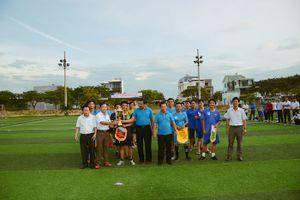 Sôi động Giải bóng đá mini chào mừng 73 năm thành lập ngành VNPT Quảng Ngãi