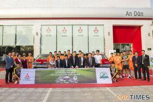 Mitsubishi Việt Nam đồng hành cùng CLB Phù Đổng FC tại Giải hạng Nhất quốc gia 2018