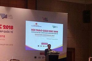 Vị trí thứ hạng giáo dục Đại học Việt Nam so với thế giới