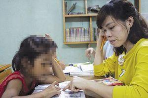 Lớp xóa mù chữ cho những trẻ em nghèo