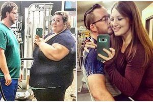 Nhờ chồng ủng hộ, cô gái giảm được hơn 179kg, từ 'thùng phuy' hóa thiên nga