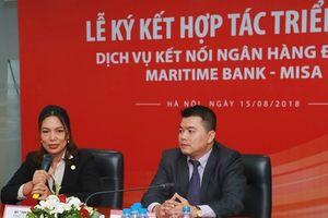 MISA và Maritime Bank ký kết triển khai dịch vụ kết nối ngân hàng điện tử