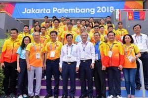 Bộ trưởng Bộ Văn hóa, Thể thao và Du lịch thăm, động viên Đoàn thể thao Việt Nam