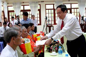 Nhiều hoạt động tri ân trên quê hương Chủ tịch Tôn Đức Thắng