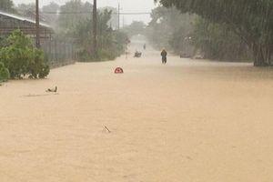 Cận cảnh bão số 4 gây lũ lụt kinh hoàng ở Nghệ An