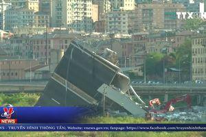 Italy công bố nội dung cuộc gọi nạn nhân vụ sập cầu