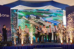Khánh thành nhà máy nước sạch DNP - Bắc Giang