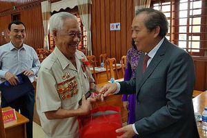PTT Trương Hòa Bình dự Lễ kỷ niệm 70 năm chiến thắng trận Mộc Hóa