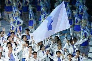 Xúc động hình ảnh đội tuyển Triều Tiên thống nhất đến với ASIAD 18