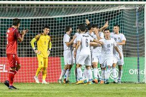 Olympic Thái Lan có nguy cơ bị loại ở vòng bảng ASIAD