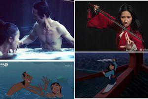 Đạo diễn tung ra hình ảnh Lưu Diệc Phi tắm tiên trong 'Hoa Mộc Lan' bám sát nguyên tác