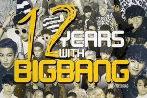 Chỉ cần nhìn 1 bức ảnh, bạn sẽ thấy tất - tần - tật về 12 năm rực rỡ của BigBang!