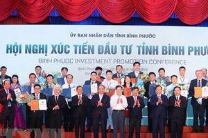 Bình Phước cấp phép đầu tư 19 dự án với tổng vốn đăng ký 1 tỷ USD