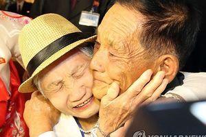 Nước mắt ngày đoàn viên của các gia đình li tán