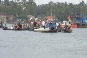 Chìm đò ở Cà Mau, một người chết đuối thương tâm