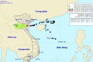 Bão số 4 suy yếu thành áp thấp nhiệt đới đổ bộ vào khu vực Thanh Hóa