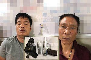 Hàng chục cảnh sát bao vây, bắt giữ đối tượng mang K59 đi vận chuyển lượng ma túy 'khủng'