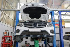 Mercedes-Benz VN: 'GLC không nên lội nước quá 30 cm'