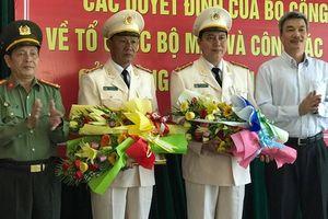 Đà Nẵng có thêm 2 phó giám đốc công an