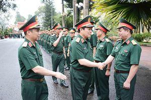 Đại tướng Ngô Xuân Lịch: Xây dựng, bảo vệ vùng biên giới hòa bình, ổn định và phát triển