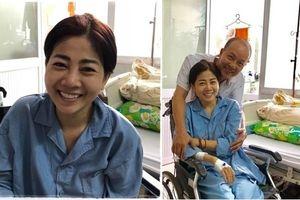 Diễn viên Mai Phương vẫn kiên cường, lạc quan tại bệnh viện