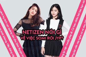 Somi rời JYP và thái độ dửng dưng từ phía công ty này: 'Đừng vứt bỏ nghệ sĩ như vậy'!