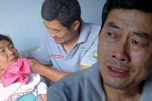 Con gái mắc bệnh bị chồng trả về, người cha già yếu một tay nuôi vợ con bệnh tật