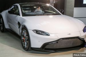 Aston Martin V8 Vantage 2018 giá từ 390.000 USD tại Malaysia