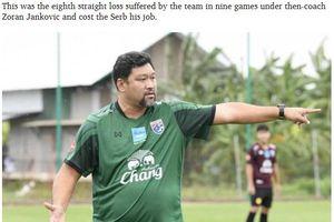 HLV tuyển Olympic Thái Lan cầu xin sự tha thứ sau thất bại ở ASIAD 18