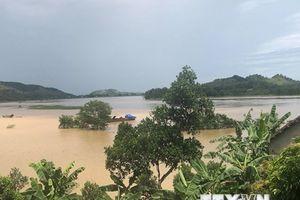 Nghệ An: Nam Đàn ngập sâu trong lũ, cuộc sống người dân bị đảo lộn