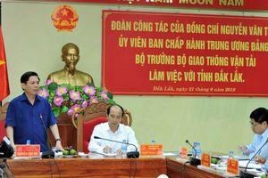 Đắk Lắk: Cần chủ động đề xuất các dự án mang tính cấp bách