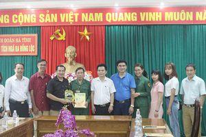 Đoàn công tác Tạp chí Môi trường và Cuộc sống viếng thăm Khu di tích Ngã ba Đồng Lộc