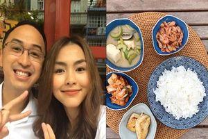 Bất ngờ khi soi thực đơn ăn uống hằng ngày của vợ chồng Hà Tăng