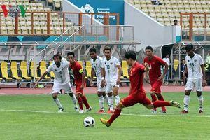 Lịch thi đấu bóng đá nam ASIAD 2018 trên VOV-VTC