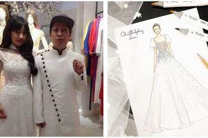 Lộ diện mẫu váy cưới tuyệt đẹp của Nhã Phương trong đám cưới với Trường Giang