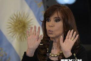 Thượng viện Argentina cho phép khám nhà riêng cựu Tổng thống Fernandez