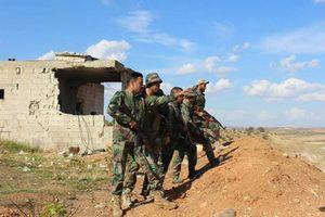 Quân đội Syria trút bão lửa đánh quân thánh chiến tại Hama, Idlib