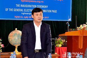 Ứng viên 42 tuổi vào 'ghế nóng' Chủ tịch Nghệ An là ai?