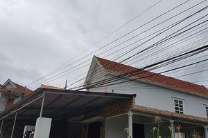 Ngành điện Quảng Ngãi 'bối rối' với kiểu dây điện như thế này