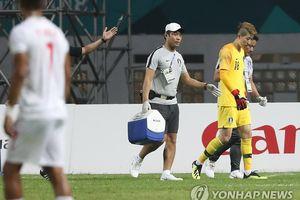 Olympic Hàn Quốc trả giá đắt sau thắng lợi trước Olympic Iran