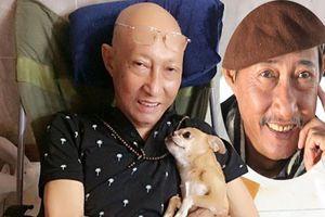 Hình ảnh nghệ sĩ Lê Bình lạc quan chống chọi bệnh ung thư phổi