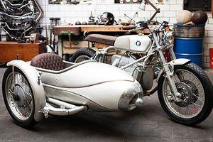 Xe môtô phân khối lớn BMW độ 3 bánh cổ điển cực độc