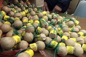 Lạng Sơn: Bắt 2 vụ vận chuyển pháo lậu, thu hơn 6 tạ pháo