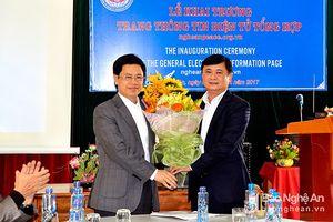 Xôn xao về ứng viên chức Chủ tịch UBND tỉnh Nghệ An?