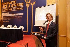 Cuộc thi Sáng tạo như người Thụy Điển: Cơ hội đi Thụy Điển cho các sinh viên Việt Nam