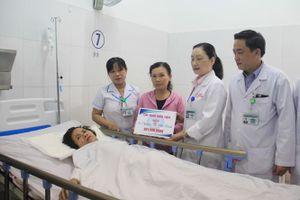 Vụ xe rước dâu gặp nạn: Trao gần 2,5 tỉ đồng cho 4 nạn nhân sống sót